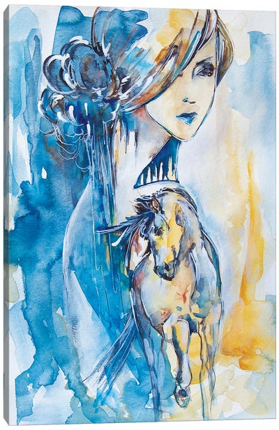 Rye Field Canvas Art Print