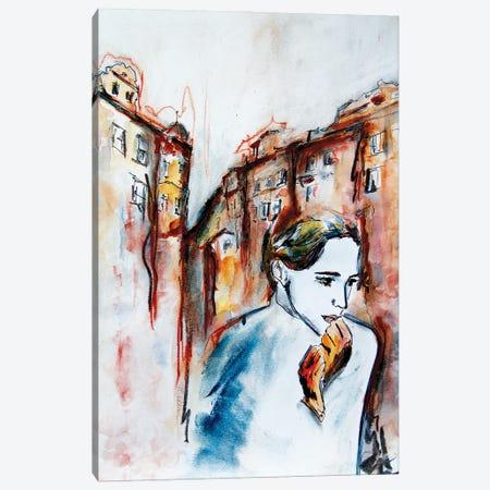 Big City Life Canvas Print #MNA36} by Marianna Shakhova Canvas Wall Art