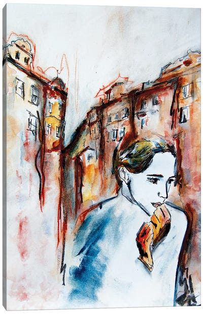 Big City Life Canvas Art Print