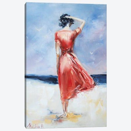 By The Ocean Canvas Print #MNA45} by Marianna Shakhova Canvas Print