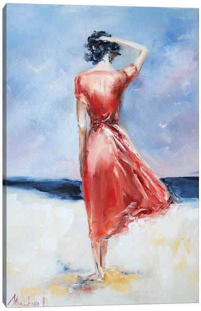 By The Ocean Canvas Art Print