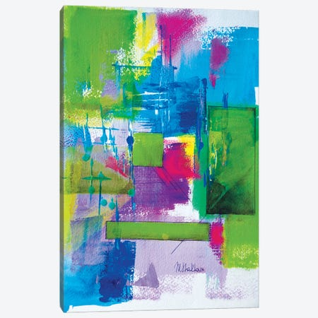 Green Summer Time Canvas Print #MNA46} by Marianna Shakhova Canvas Art Print