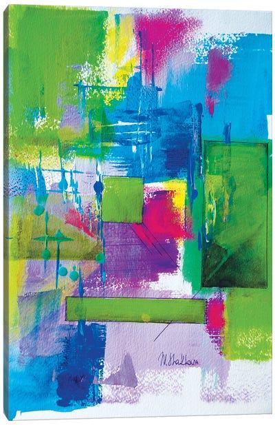 Green Summer Time Canvas Art Print