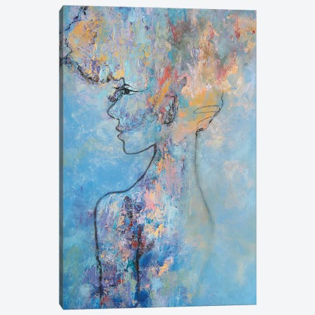 Parisian Canvas Print #MNA48} by Marianna Shakhova Canvas Art