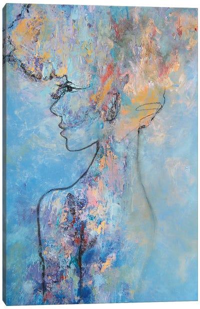 Parisian Canvas Art Print