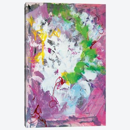 Happy Thoughts I 3-Piece Canvas #MNA58} by Marianna Shakhova Art Print