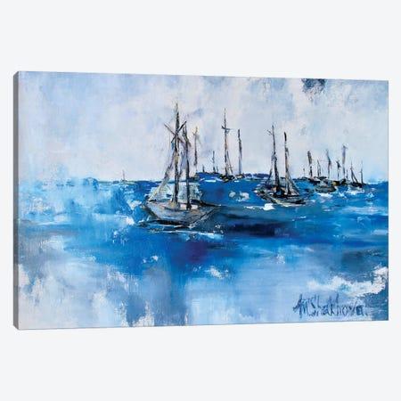 Lake Michigan Canvas Print #MNA8} by Marianna Shakhova Canvas Print