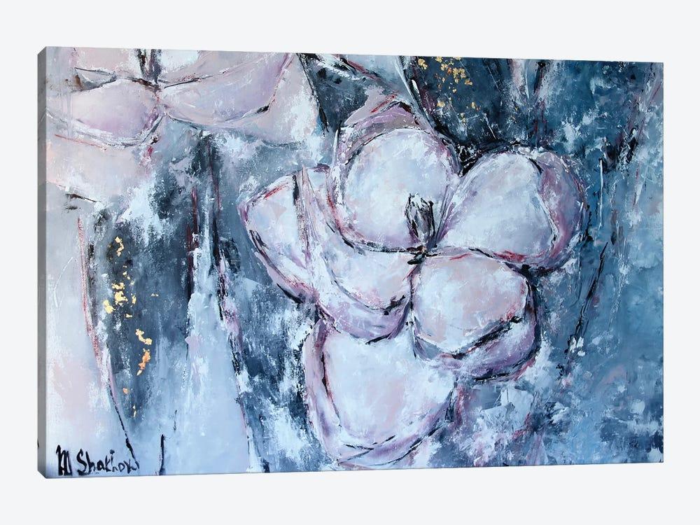 Magnolia by Marianna Shakhova 1-piece Canvas Art Print
