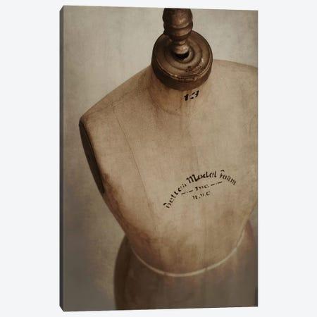 Dress Form Vin Canvas Print #MND18} by Mandy Lynne Canvas Artwork