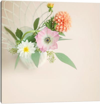 Bouquet Canvas Art Print