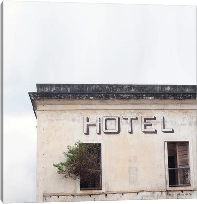 Hotel Canvas Art Print