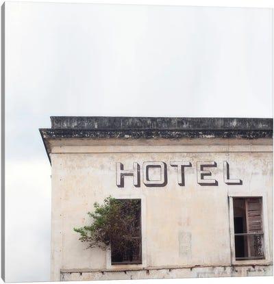 Hotel Canvas Art Print