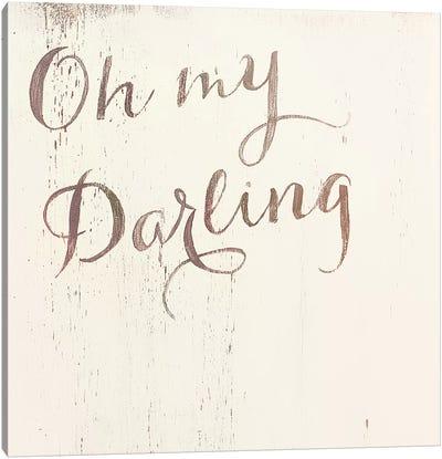Oh My Darling Warmer Canvas Art Print