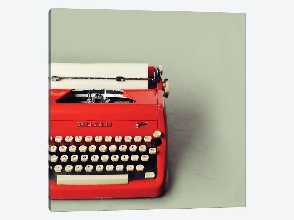 The Red Typewriter by Mandy Lynne 1-piece Canvas Artwork