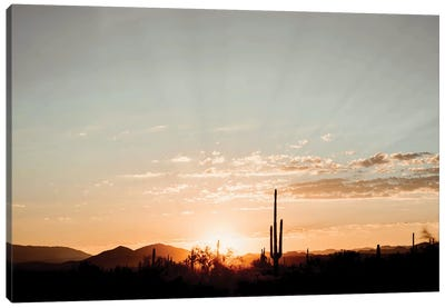 Desert Sunrise Canvas Art Print