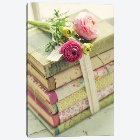 Books Canvas Print #MND9} by Mandy Lynne Canvas Art
