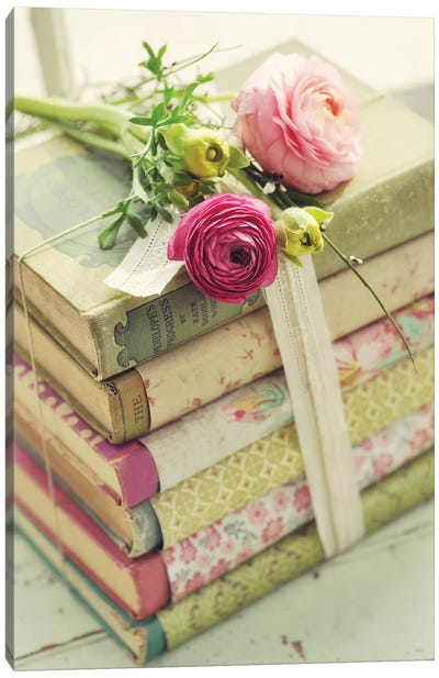 Books Canvas Art Print