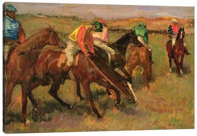 Before the Races, c.1882 Canvas Art Print