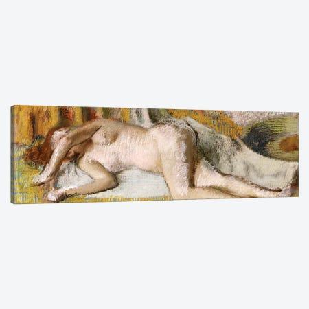After the Bath, 1885 Canvas Print #MNE20} by Edgar Degas Canvas Wall Art
