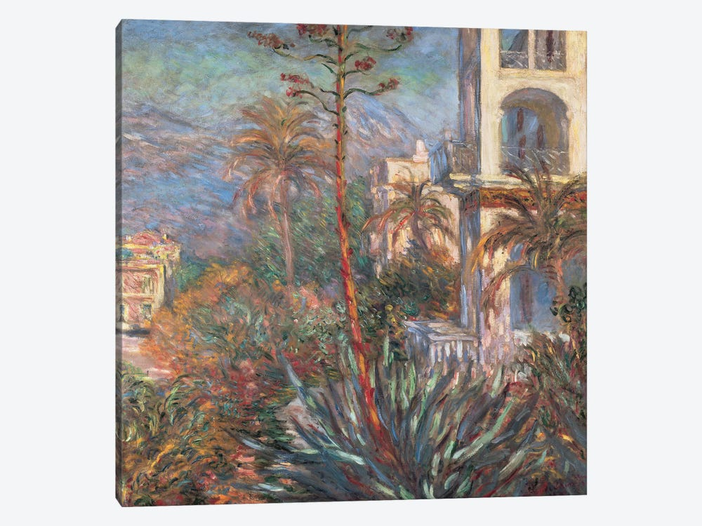 Les Villas A Bordighera by Claude Monet 1-piece Canvas Art