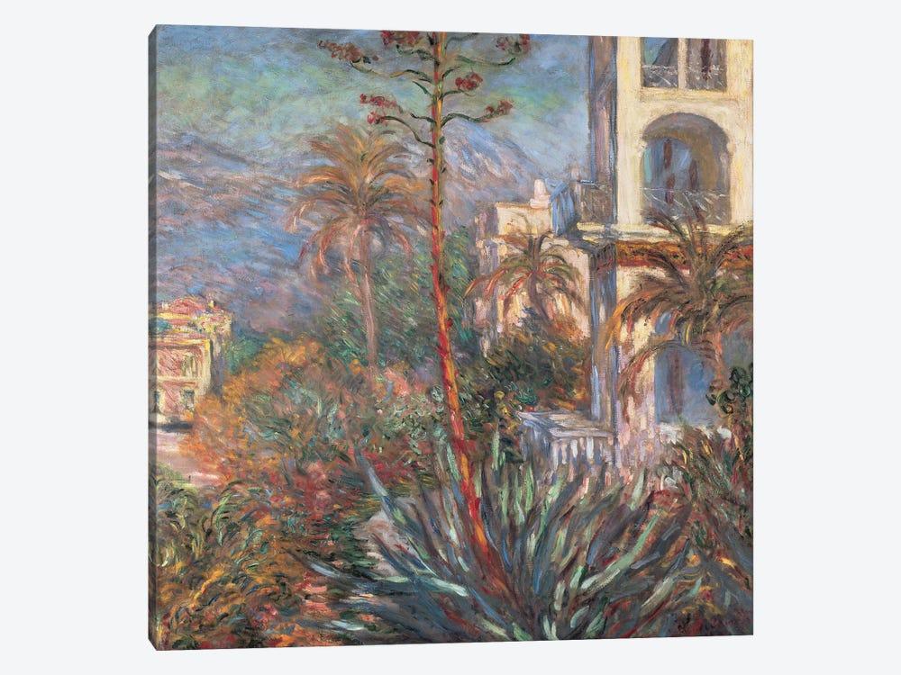 Les Villas A Bordighera by Claude Monet 1-piece Canvas Art