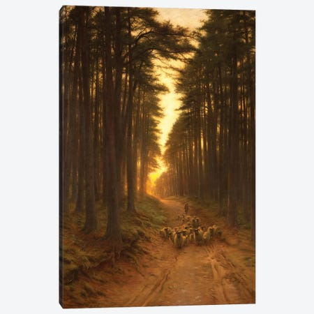 Now Came Still Evening On, c.1905 Canvas Print #MNE64} by Joseph Farquharson Canvas Print