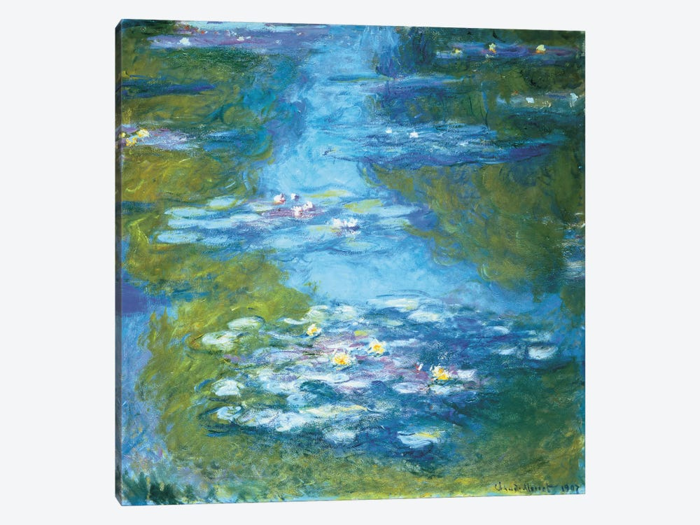 Nymphéas II by Claude Monet 1-piece Canvas Wall Art