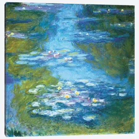 Nymphéas II Canvas Print #MNE6} by Claude Monet Canvas Art
