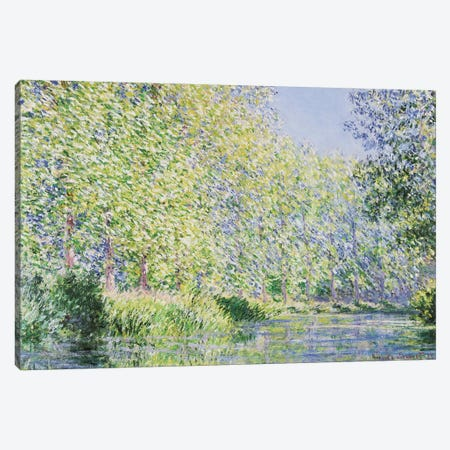 The Epte River Near Giverny Canvas Print #MNE7} by Claude Monet Canvas Art