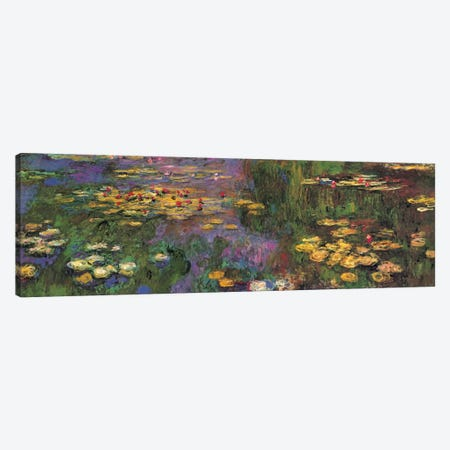 Water Lilies Canvas Print #MNE8} by Claude Monet Art Print