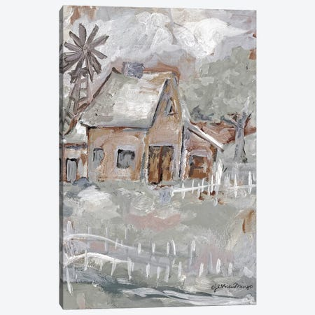 House  Canvas Print #MNG103} by Jessica Mingo Canvas Art