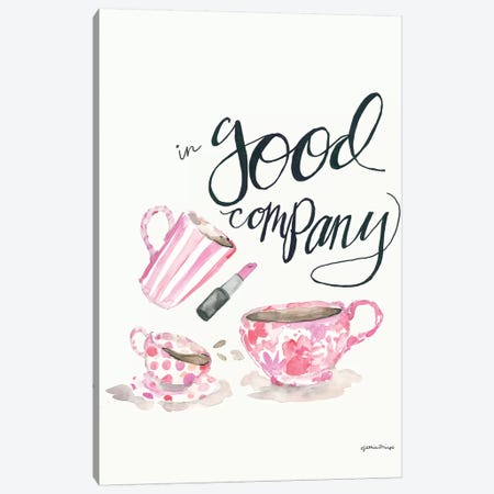 In Good Company Canvas Print #MNG107} by Jessica Mingo Art Print