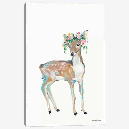 Doe 3-Piece Canvas #MNG108} by Jessica Mingo Canvas Art
