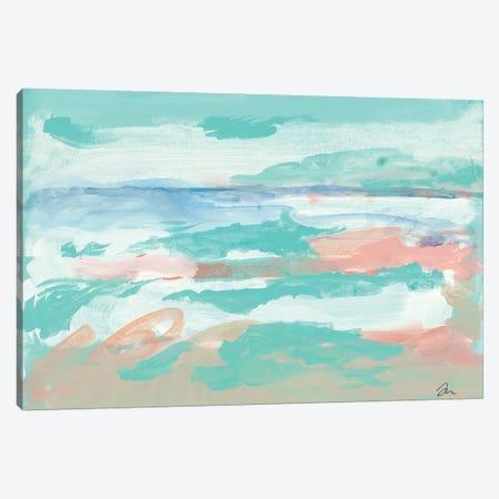 The Seahorse Beach Canvas Print #MNG110} by Jessica Mingo Art Print