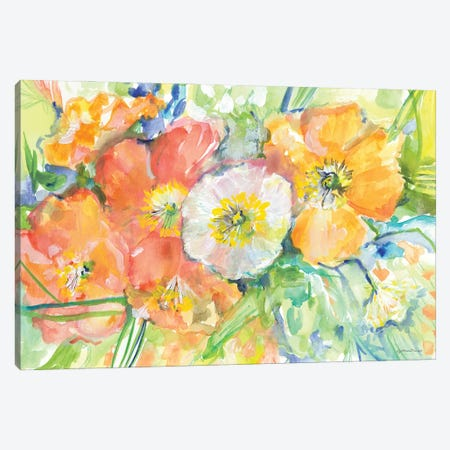 Poppies for Karen Canvas Print #MNG118} by Jessica Mingo Canvas Art Print