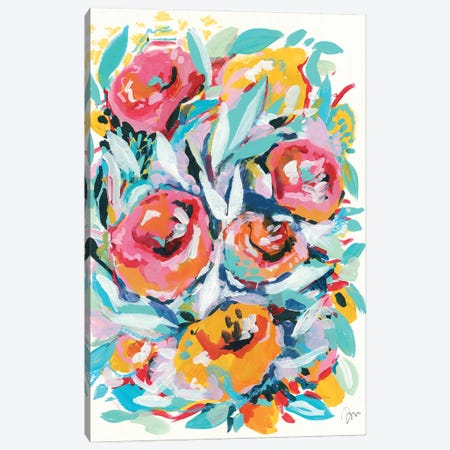 Rose Garden Canvas Print #MNG119} by Jessica Mingo Art Print