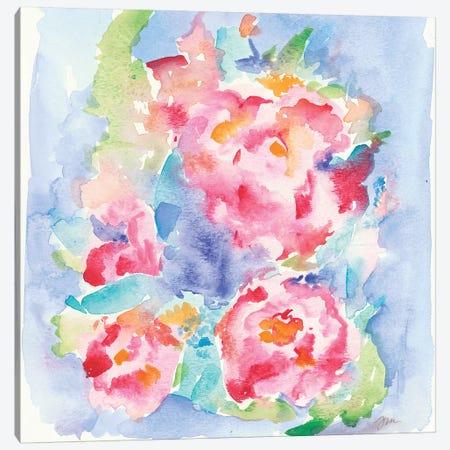 Pretty Petals Canvas Print #MNG11} by Jessica Mingo Canvas Print