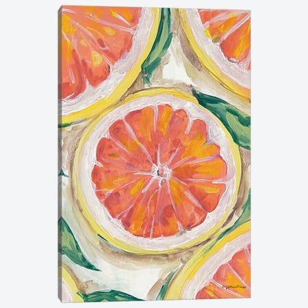 Blood Orange Canvas Print #MNG120} by Jessica Mingo Canvas Wall Art