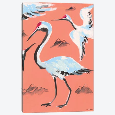 Storks II Canvas Print #MNG16} by Jessica Mingo Canvas Art
