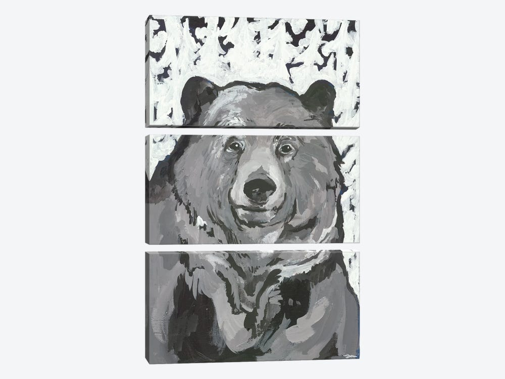 Time for Hibernation by Jessica Mingo 3-piece Art Print