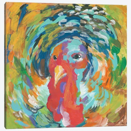 Gobble Canvas Print #MNG24} by Jessica Mingo Canvas Print
