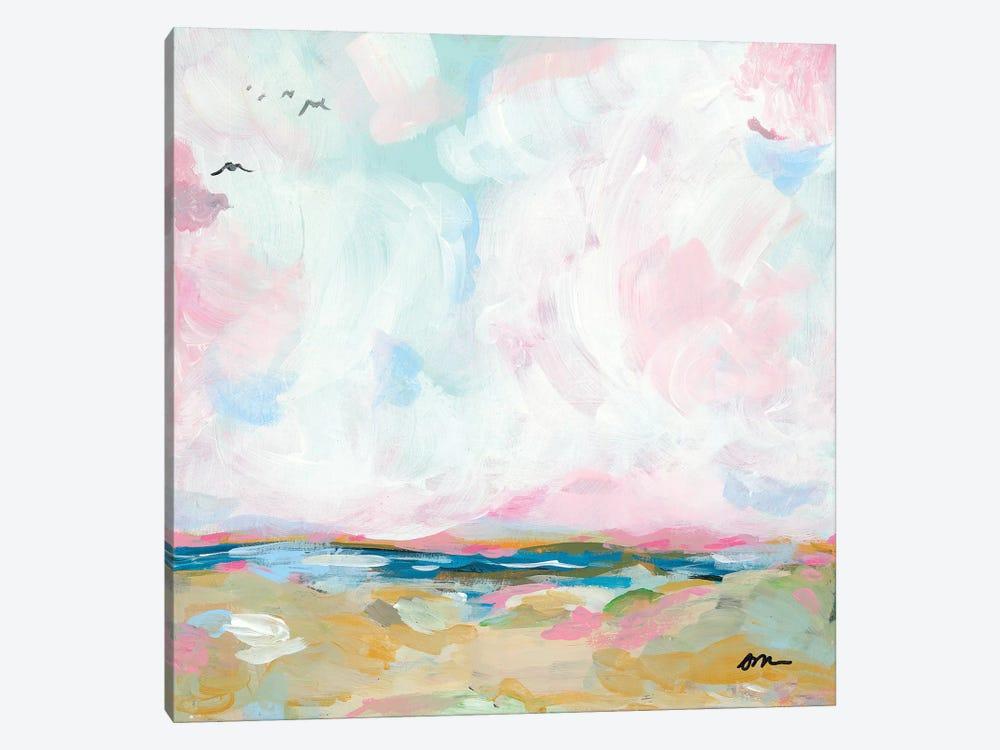 Beach Days I by Jessica Mingo 1-piece Canvas Art Print