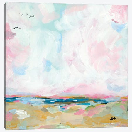 Beach Days I Canvas Print #MNG51} by Jessica Mingo Art Print