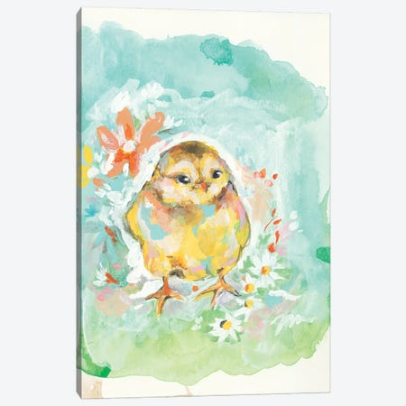 Floral Chick Canvas Print #MNG58} by Jessica Mingo Canvas Print