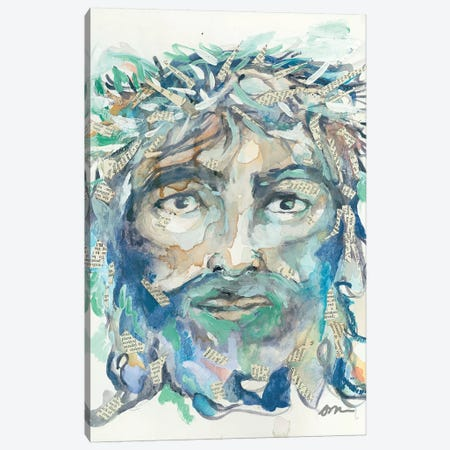 Jesus Christ Canvas Print #MNG61} by Jessica Mingo Canvas Wall Art