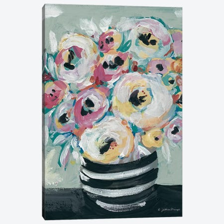 Symphony of Roses Canvas Print #MNG69} by Jessica Mingo Canvas Wall Art