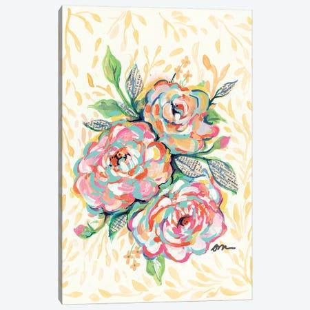 Vintage Rose Canvas Print #MNG70} by Jessica Mingo Art Print