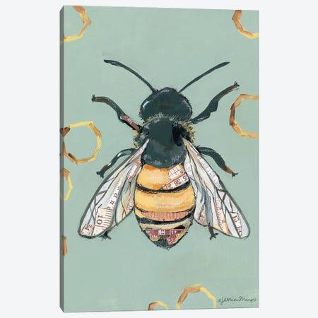 Bee Canvas Print #MNG72} by Jessica Mingo Canvas Art Print