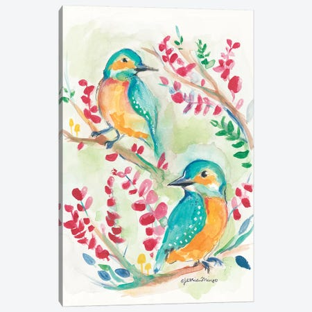 Birds Of A Feather   Canvas Print #MNG73} by Jessica Mingo Canvas Art Print