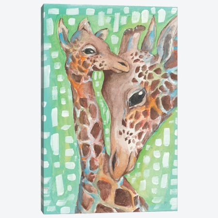 Mother and Child Canvas Print #MNG7} by Jessica Mingo Canvas Artwork